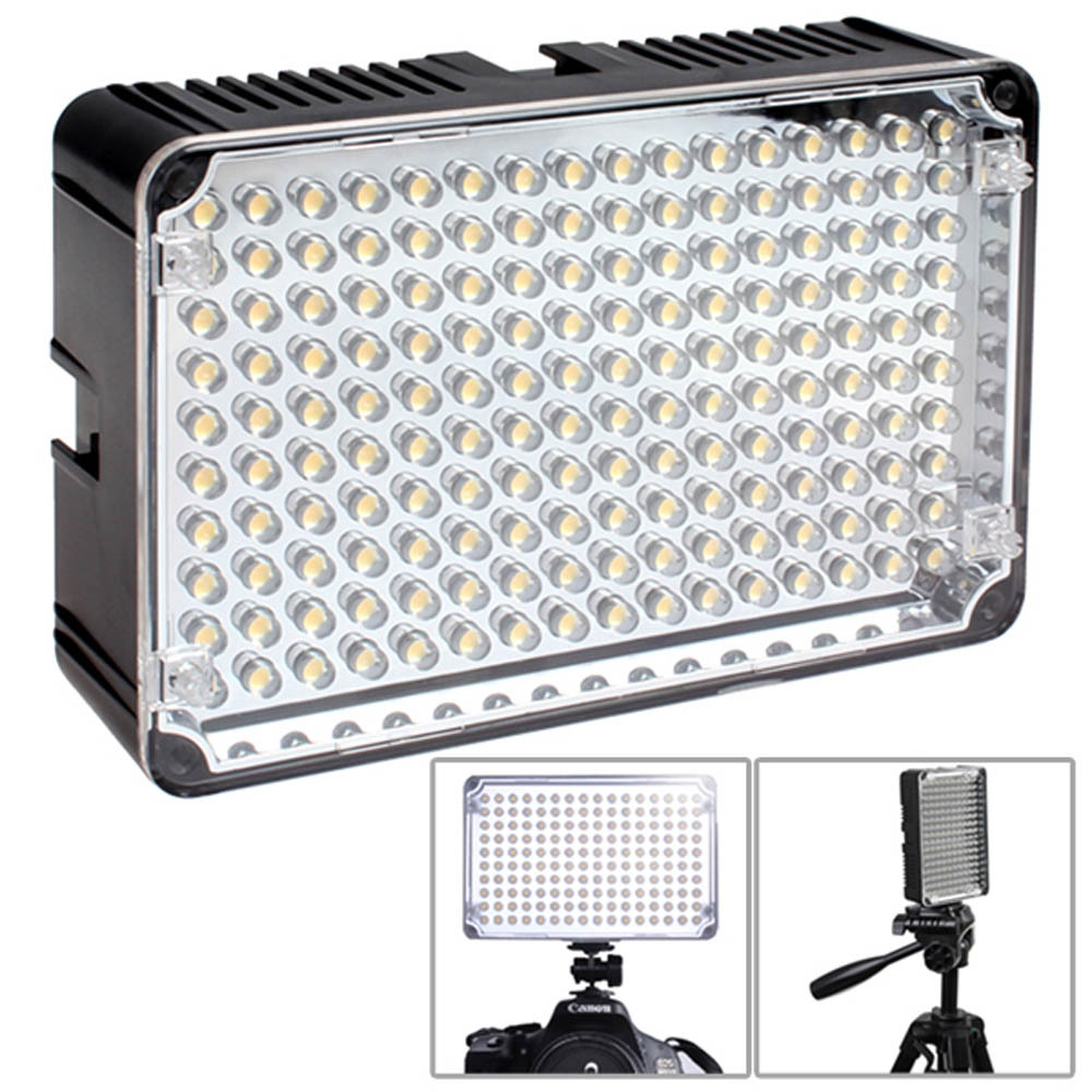 New Aputure Amaran H160 CR95+ Professional LED Video Light Camera Camcorder Light For Canon Nikon Sony Lumix Pentax OLYMPUS DSLR godox led308y 308 3300k led video light lamp for sony panasonic canon nikon dv camcorder dslr camera