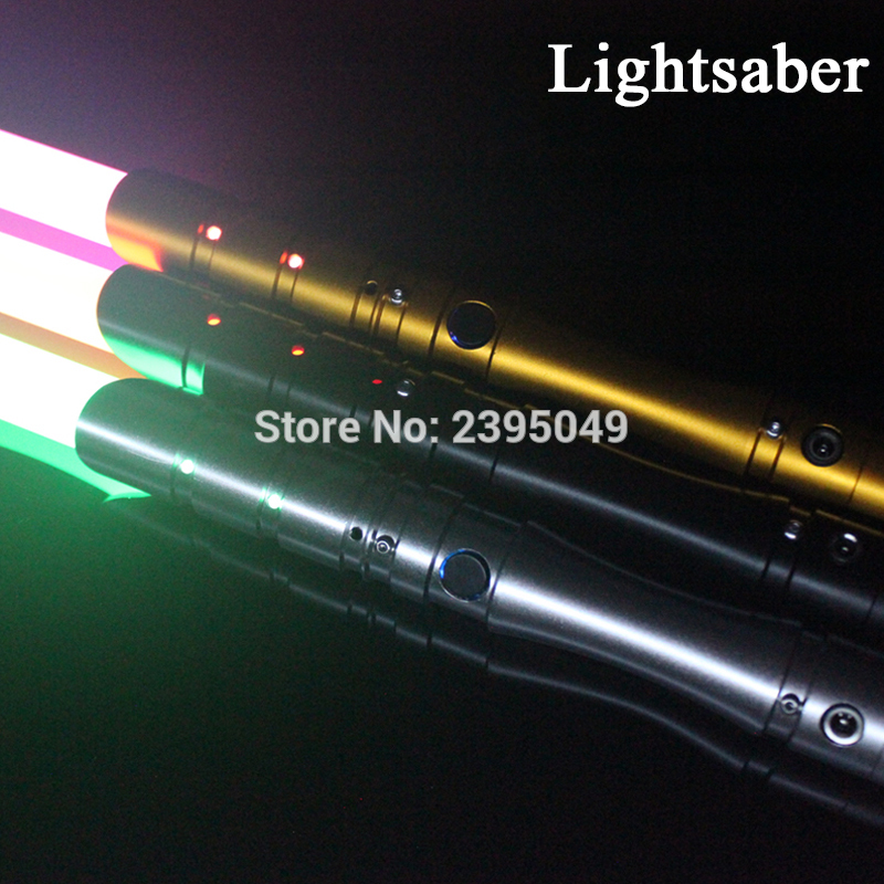 New 15 Types 1 Pcs Cosplay Lightsaber With Light Sound Led Red Green Blue Saber Alloy Skywalker Sword 100 cm Sound Luke Toy Gift 100 pcs ld 3361ag 3 digit 0 36 green 7 segment led display common cathode