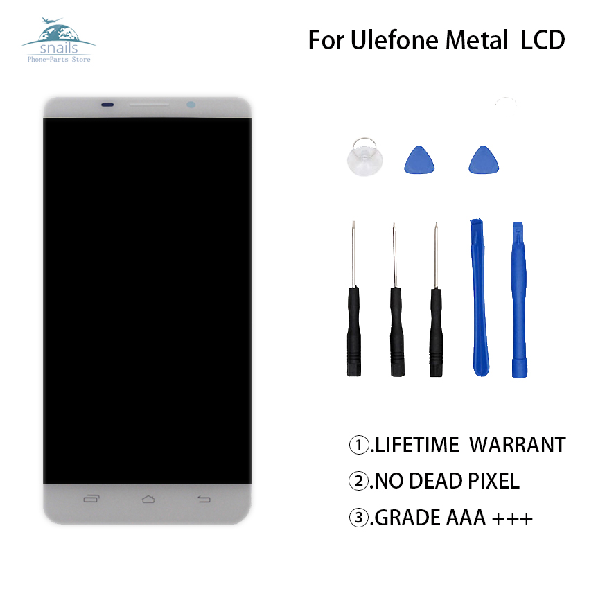 Tested For UleFone Metal LCD Display Touch Screen Digitizer Assembly For Ulefone Metal Lite Touch Screen LCD Free ToolsTested For UleFone Metal LCD Display Touch Screen Digitizer Assembly For Ulefone Metal Lite Touch Screen LCD Free Tools