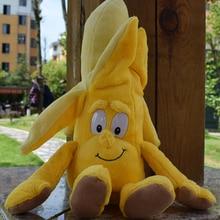 """Новые фрукты овощи банан груша Brcoccoli арбуз цветная капуста лимонный гриб ананас Starwberry """" мягкая плюшевая кукла игрушка"""