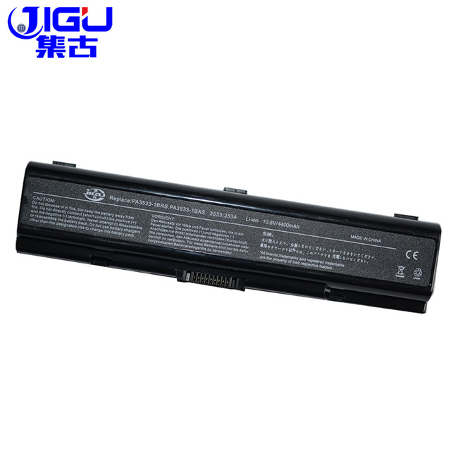 JIGU 6 Cells Laptop Battery FOR Toshiba Satellite L202 L300 L300D L305D L350 L450 L450D L500 L500D L505 L550 L555D M209 M215