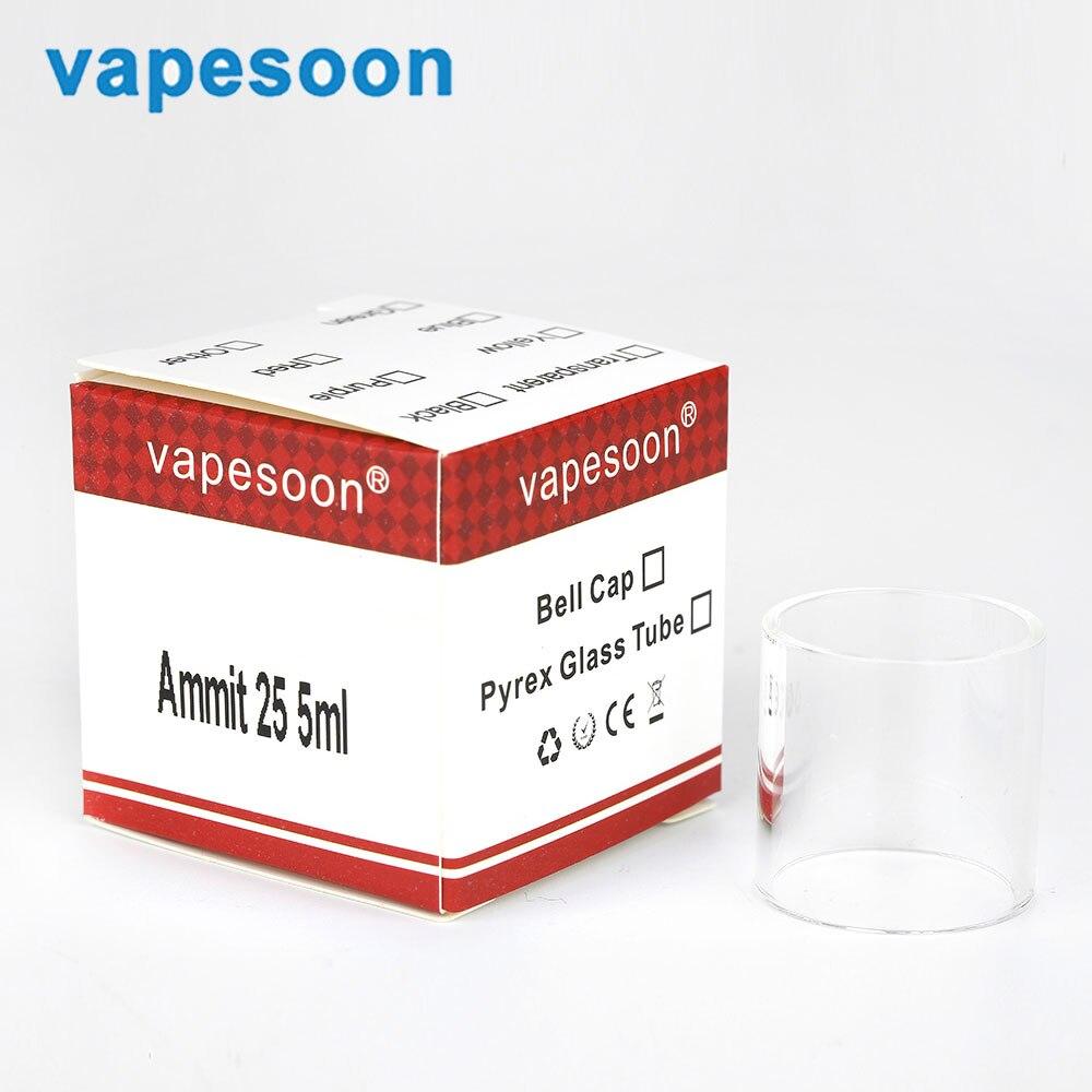 Electronic Cigarette Vapesoon Glass Tube for Engine / Serpent /EXO /Ammit /MAXO V12 /Tar ...