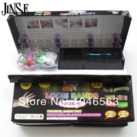 Hot Loom Kits DIY Refills Children Toy Gift 1Set 600pcs Rubber Bands S Hooks 1pc Crochet