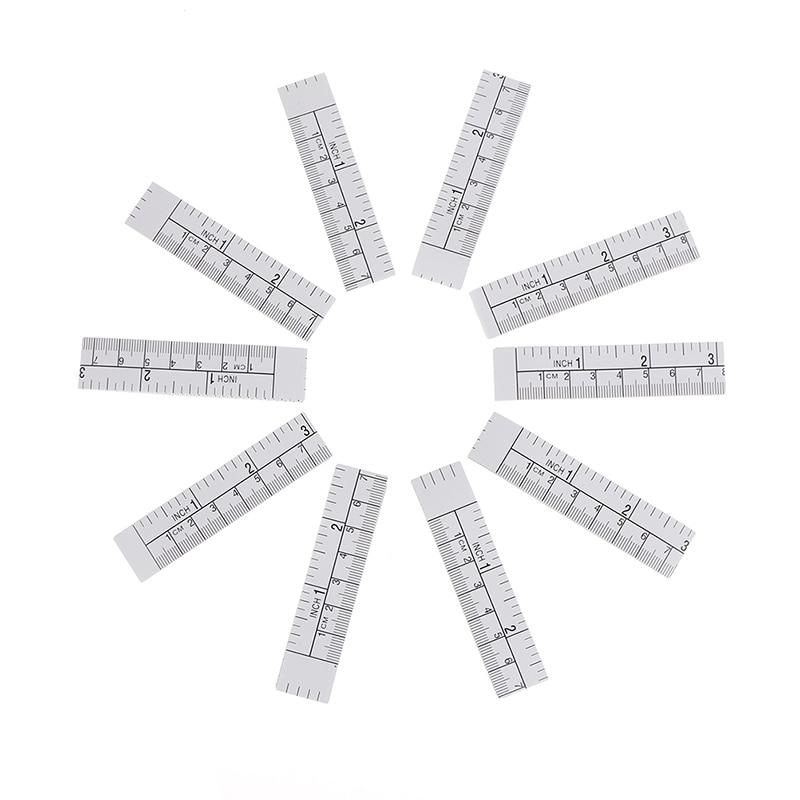 10Pcs New 100cm Metric Measure Tape Vinyl Ruler For Sewing Machine Sticker Wholesale