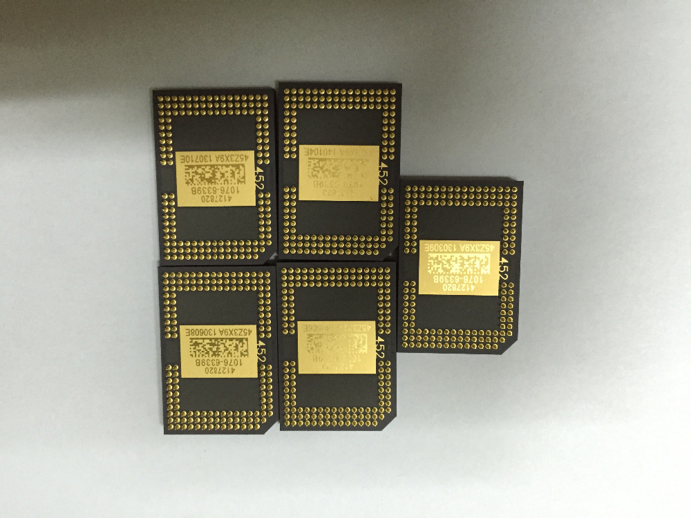 Original DMD Chip For 1076-6038B 1076-6039B 1076-6138B 1076-6139B 1076-6338B 1076-6339B 1076-601AB for    Projector new original ltk 1180 303 warranty for two year