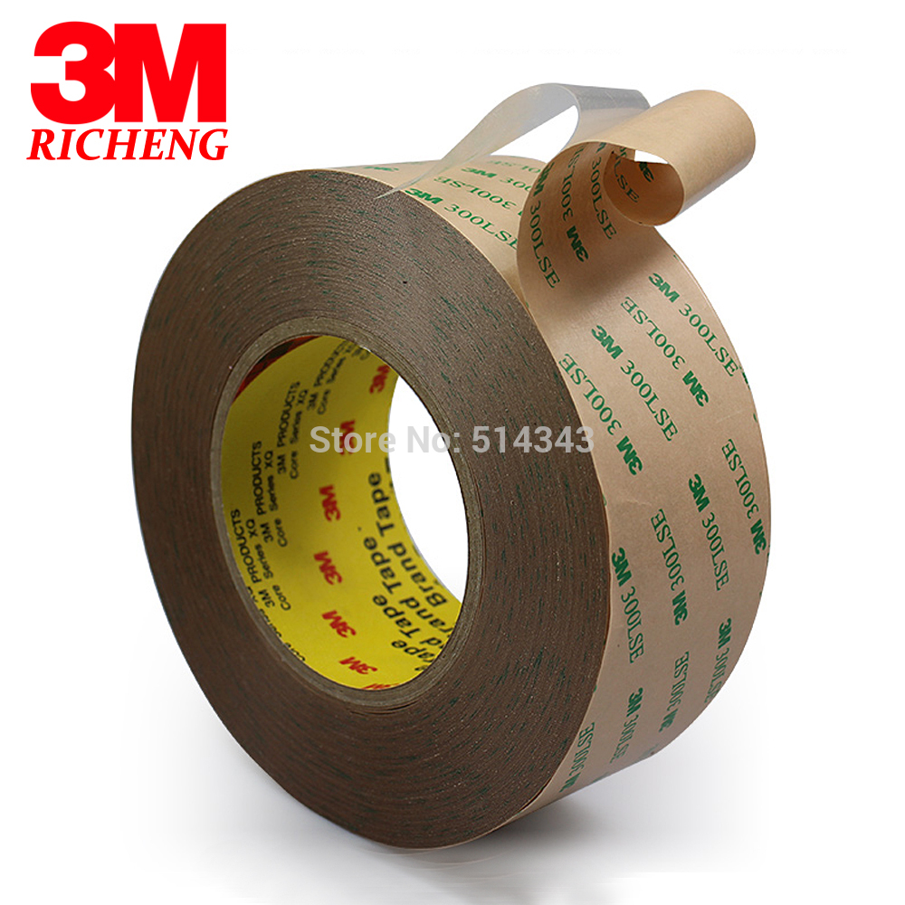 3M 300LSE Super Strong Double Sided Adhesive Heavy Duty Tape for LCD Lens Digitizer 55M