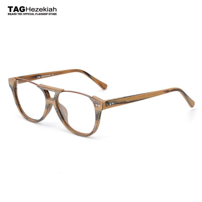2017 TAG Ezéchias Marque Conception Vintage Bois Lunettes Cadres femmes  hommes ordinateur myopie optique lunettes oculos de grau lunettes dans  Lunettes ... c684f211a2a0