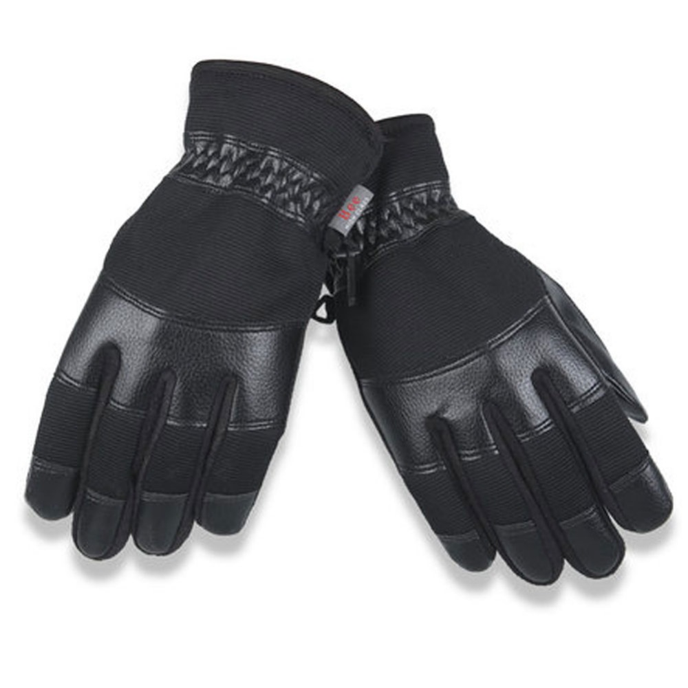 Very mens gloves - Very Warm Gloves Men S Winter Cycling Gloves Warm Thick Ski Windproof Cotton And Cashmere Mittens France Motor Dedicated