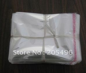 Free Shipping! 12x20cm Clear Self Adhesive Seal Plastic Bags OPP Bags wholesale