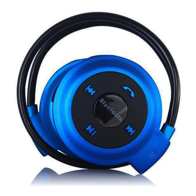 2016 New mini Sports Bluetooth headphone stereo foldable FM wireless after hanging headband earphones with micr hands-free calls