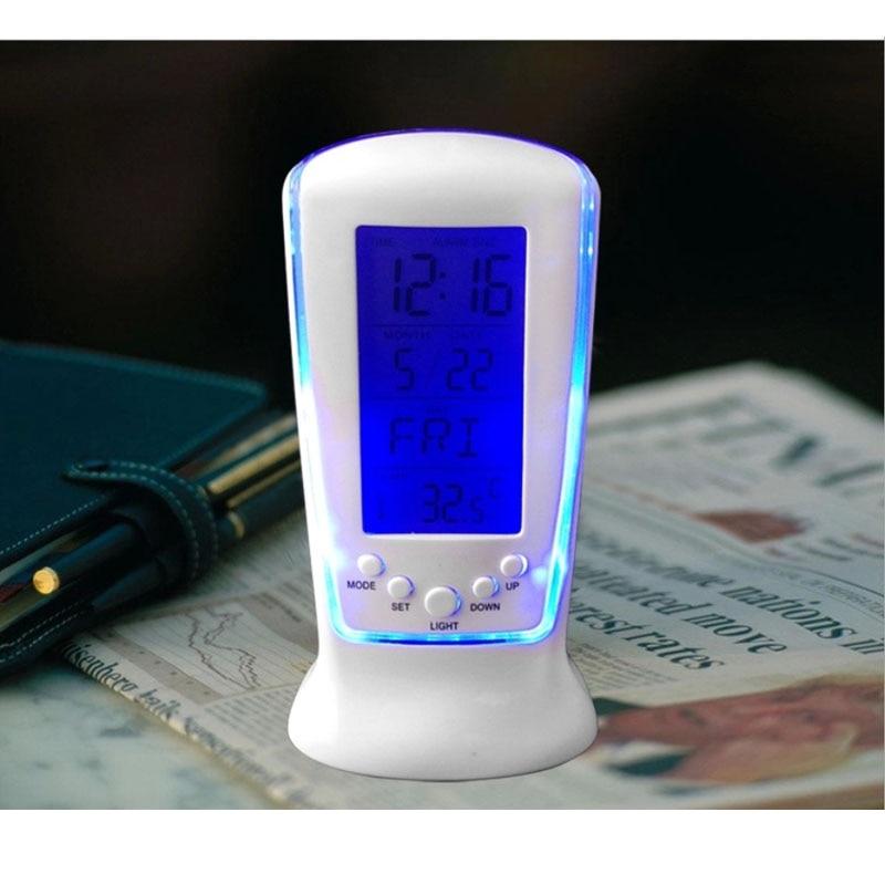 Led Digital Clock Despertador Desk Bedside Alarm Electronic Watch Square Gift For Kids