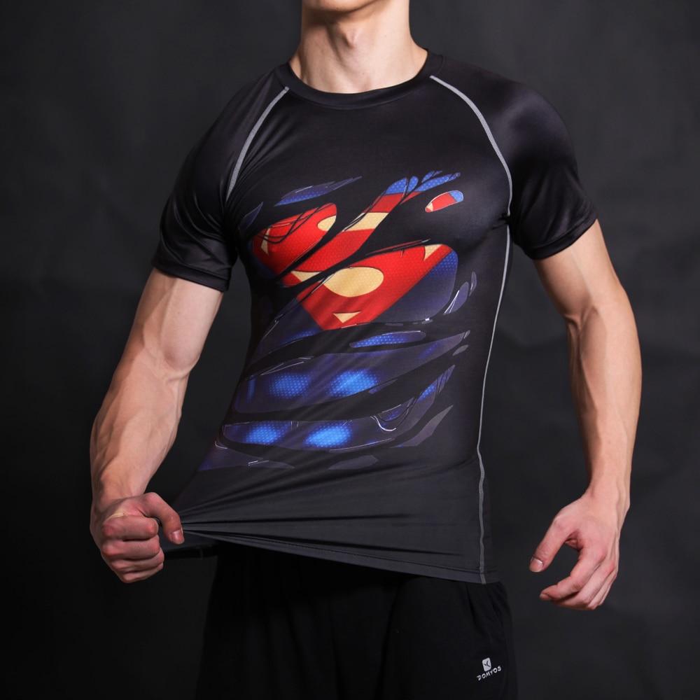 Talvise sõduri 3D trükitud T-särgid Meeste T-särk Kapten Ameerika - Meeste riided - Foto 3