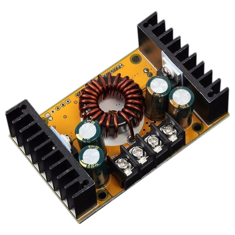Dual Display 10A DC-DC High-Power Adjustable Step-down Module Voltage & Current tengying lm2596s dc dc step down adjustable power supply module