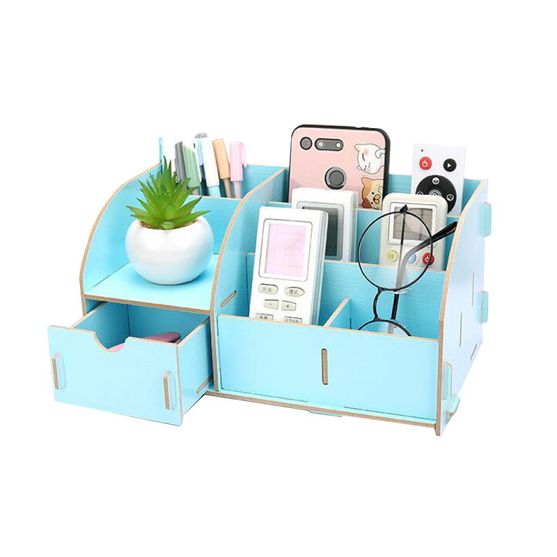 Holders With Drawer Paper Holders Multipurpose Wooden Storage Box 3