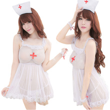 Women Sexy Lingerie Hot Nurse Set Sexy Underwear Cosplay Lenceria Sexy Costumes Sex Product Erotic Lingerie HS011