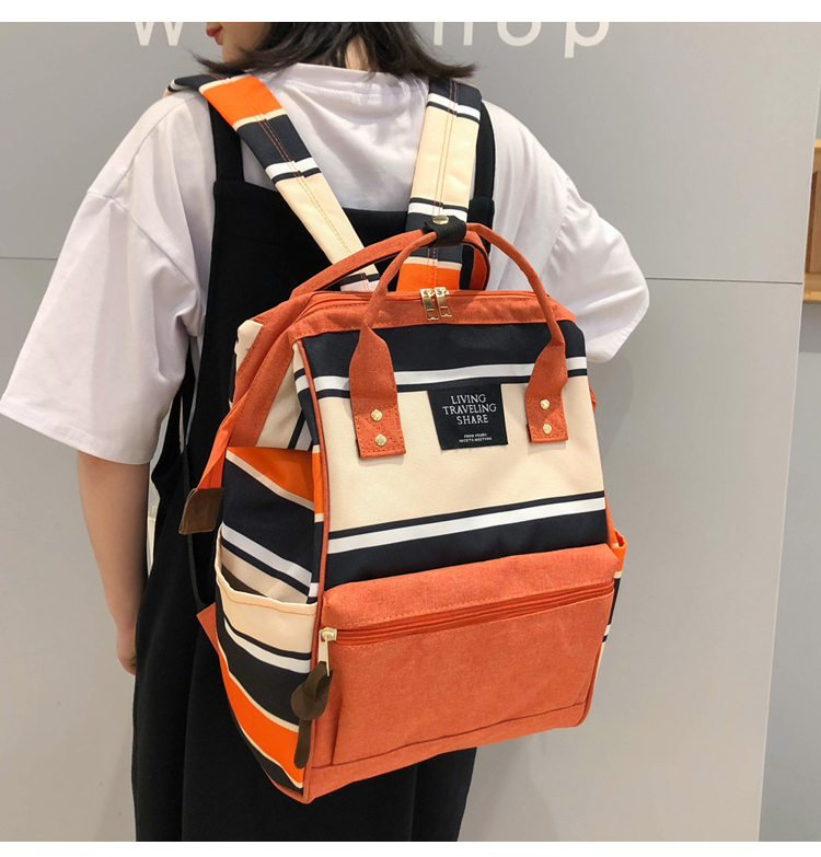 HTB1o7MXUjTpK1RjSZKPq6y3UpXaM 2019 Korean Style Women Backpack Canvas Travel Bag Mini Shoulder Bag For Teenage Girl School Bag Bagpack Rucksack Knapsack