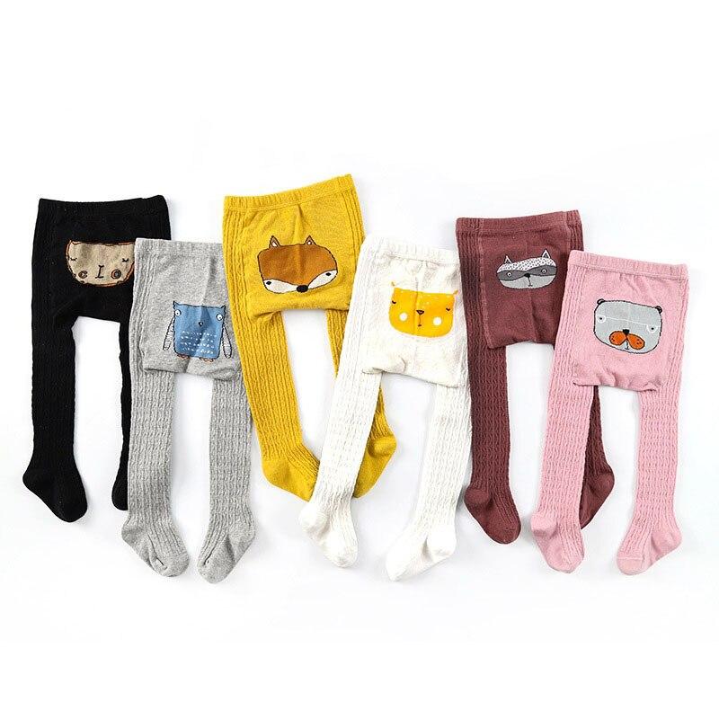 Panti De Bebe Knitted Pantyhose Toddler Kids Girl Tights Pink Leg Warmers New Born Children Newborn Baby Stuff 6-12 12-24 Months