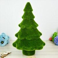 32X18 cm Artificial Pine Trees Fake Flower Plant Komatsu Moss pine tree Table display needles Christmas Home and Wedding Decor