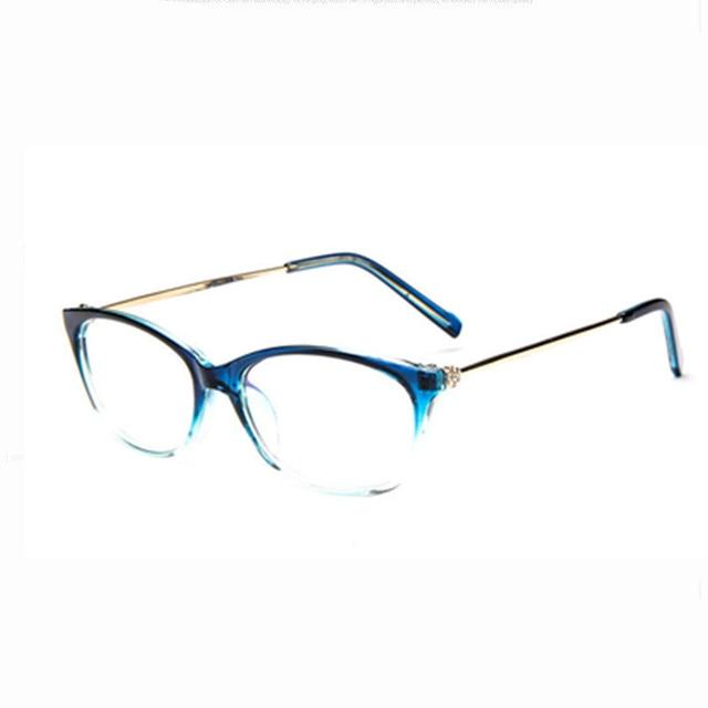 d2ebc249ec63 2018 New Brand Women Optical Glasses Frame Cat Eye Eyeglasses Anti-radiation  And Anti-fatigue Computer Glasses Oculos