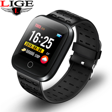 Sport Watch Bluetooth Bracelet Smart Wristband IP67 Waterproof Watch Heart Rate Monitor fitness Smart Bracelet For Android iOS цена 2017