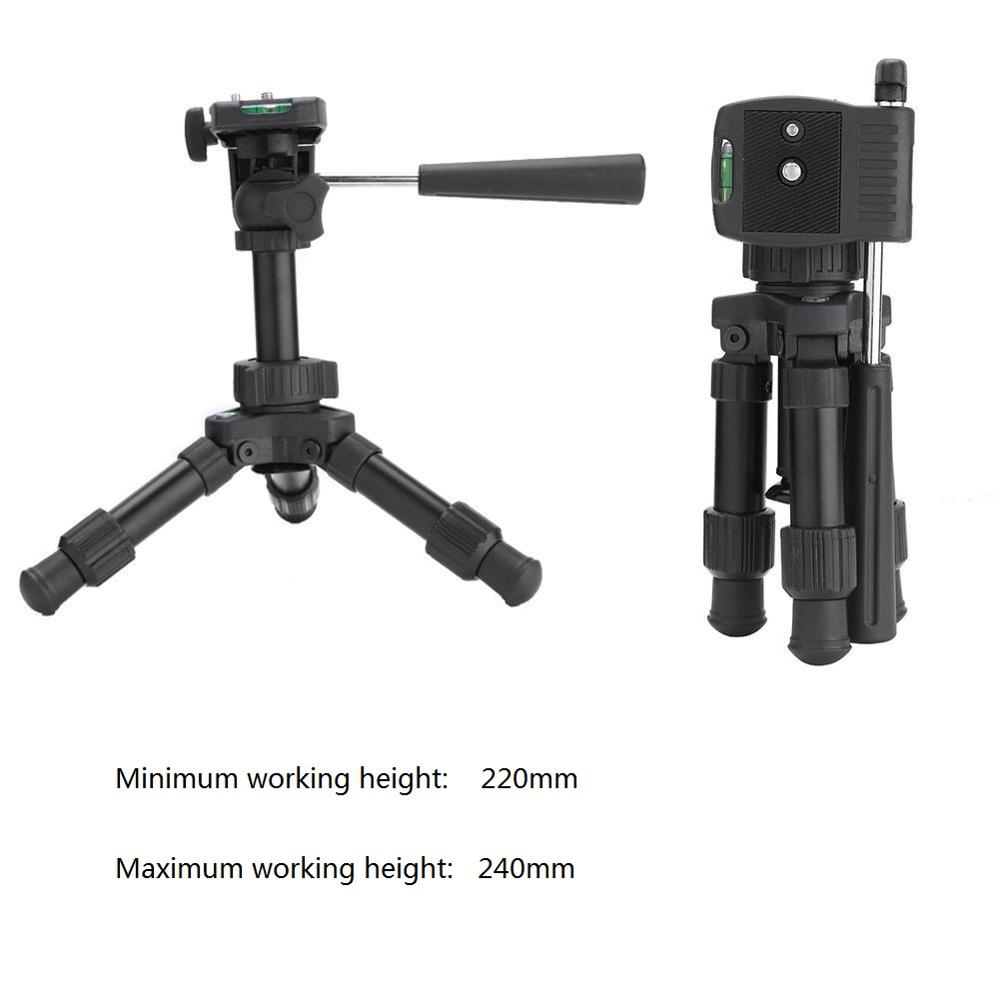 Image 5 - Mini Table Tripod Camera Aluminum Stable Tabletop Desktop Panoramic Portable With Three dimensional Tripods Ball Head for Canon-in Live Tripods from Consumer Electronics