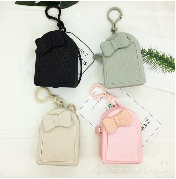 Women Silicone Coin Purse Girls Cute Fashion Ladies Kids Mini Wallet Bag Change Pouch Key Holder Small Money Bag High Quality