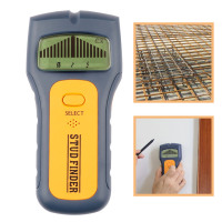 3 In 1 Metal Detectors Wood Studs Find AC Voltage Live Wire Detect Wall Scanner Electric