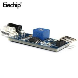 10 шт./лот, ИК инфракрасный модуль датчика для Arduino Smart Car Robot, 3 провода, светоотражающий фотоэлектрический