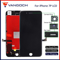 10pcs AAA SL Quality No Dead Pixel Display For IPhone 7 Plus LCD Replacement With 3D