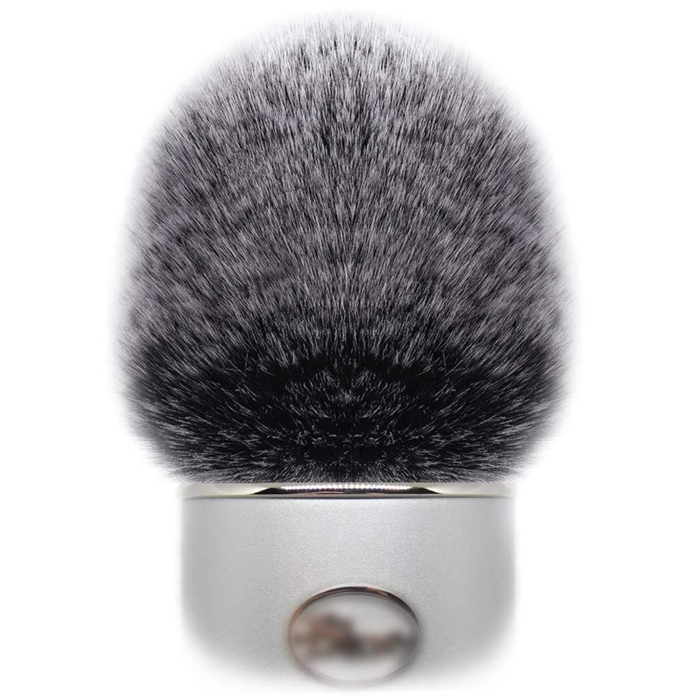 Artificiale Pelliccia Vento Copertura del Microfono Manicotto Parabrezza Manica Shield per Blu...