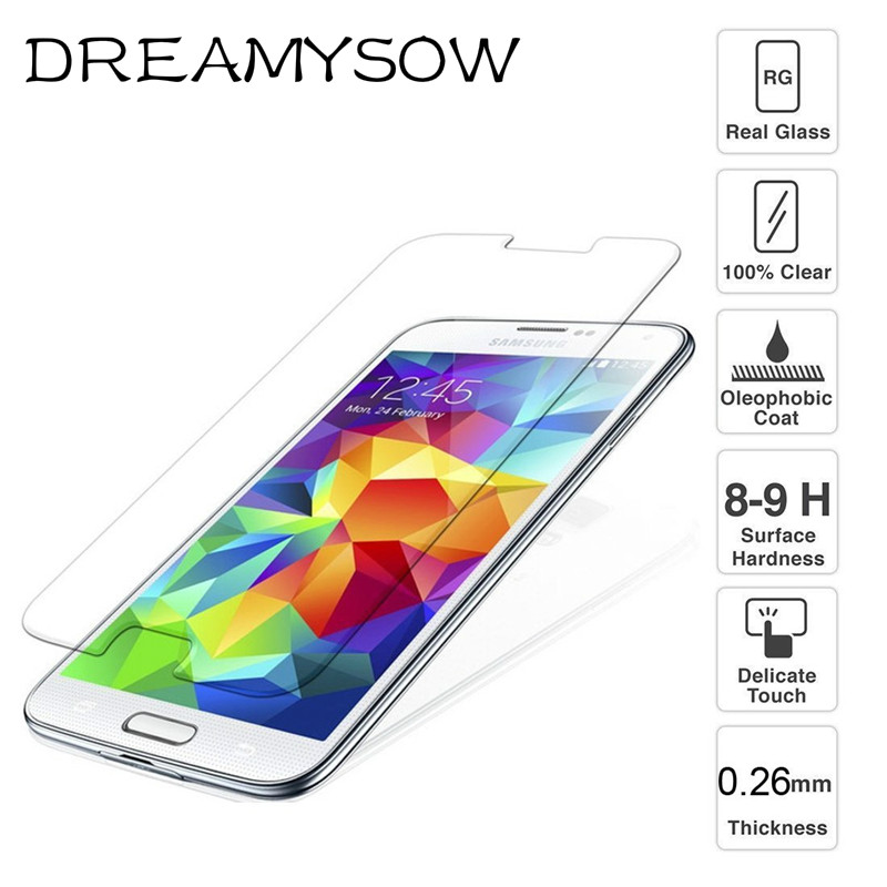 DREAMYSOW 9H Tempered Glass Cover coque For Samsung Galaxy J1 J2 J3 J5 J7 Prime 2015 2016 2017 Case Fundas J500 J310F J510F