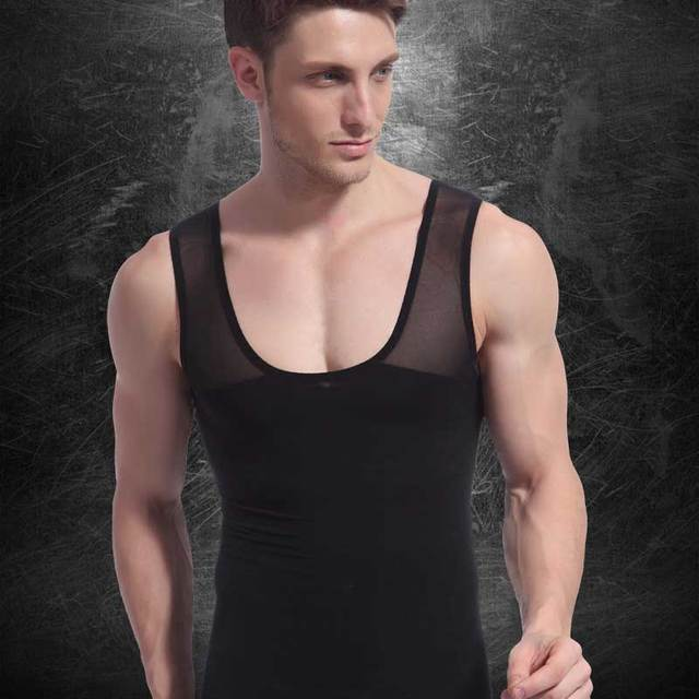 Men Shapers Ultra Sweat Thermal Muscle Shirt Neoprene Belly Slim Sheath Female Corset Abdomen Belt Shapewear Zip Tops Vest NY027 3