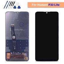 """Testado lcd para huawei p30 lite/nova 4e 6.15 """"display lcd de toque digitador da tela assembléia display lcd p30 lite MAR LX1M MAR LX2J"""