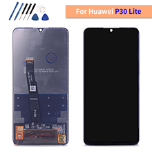 "Testato Lcd per Huawei P30 Lite/Nova 4E 6.15 ""LCD Display Touch Screen Digitizer Assembly Display LCD P30 lite MAR LX1M MAR LX2J"