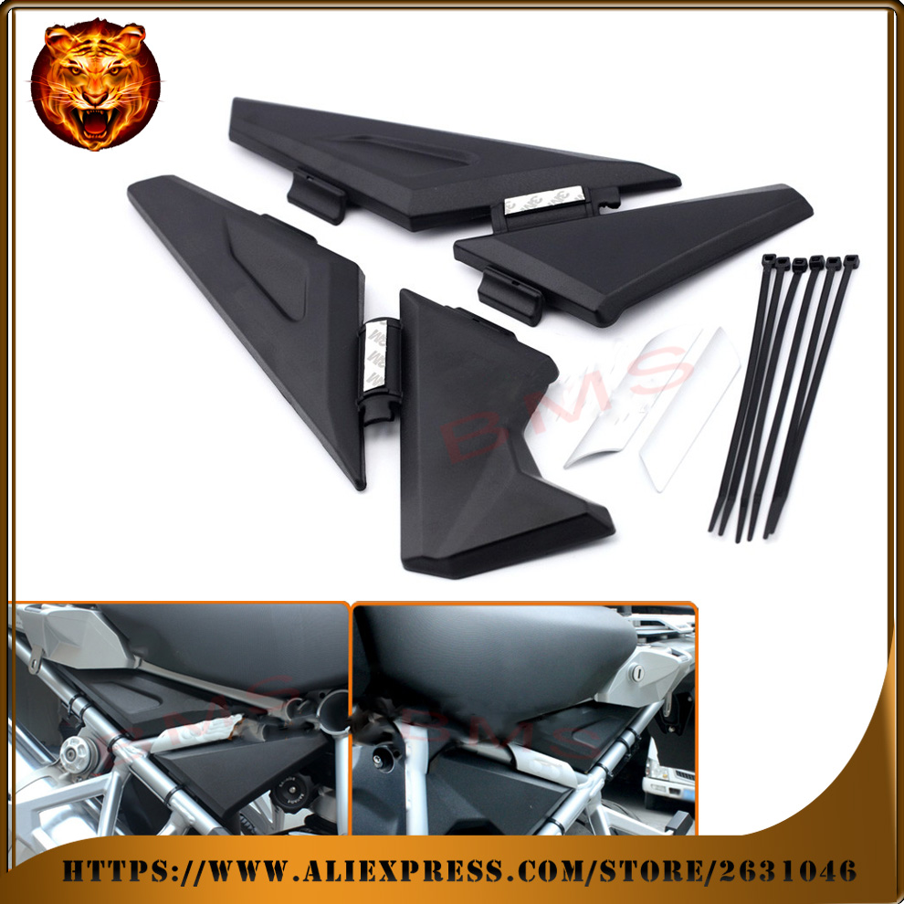 Motorcycle Upper Frame Infill Side Panel Set Guard Protector For BMW R1200GS LC R1200 GS LC Adventure 2013-2016 free shipping gs motorcycle decal kit r1200 world adventure map for touratech panniers
