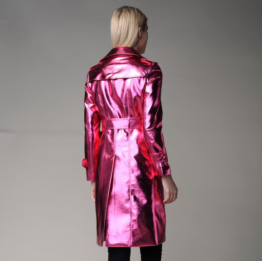 fashion spliced and coats