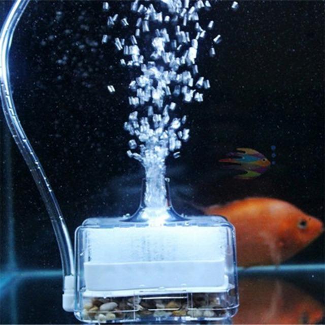 2016 Popular Aquarium aquarium pump oxygen Air Driven Biochemical Sponge Fish Tank Super Activated Carbon Filter