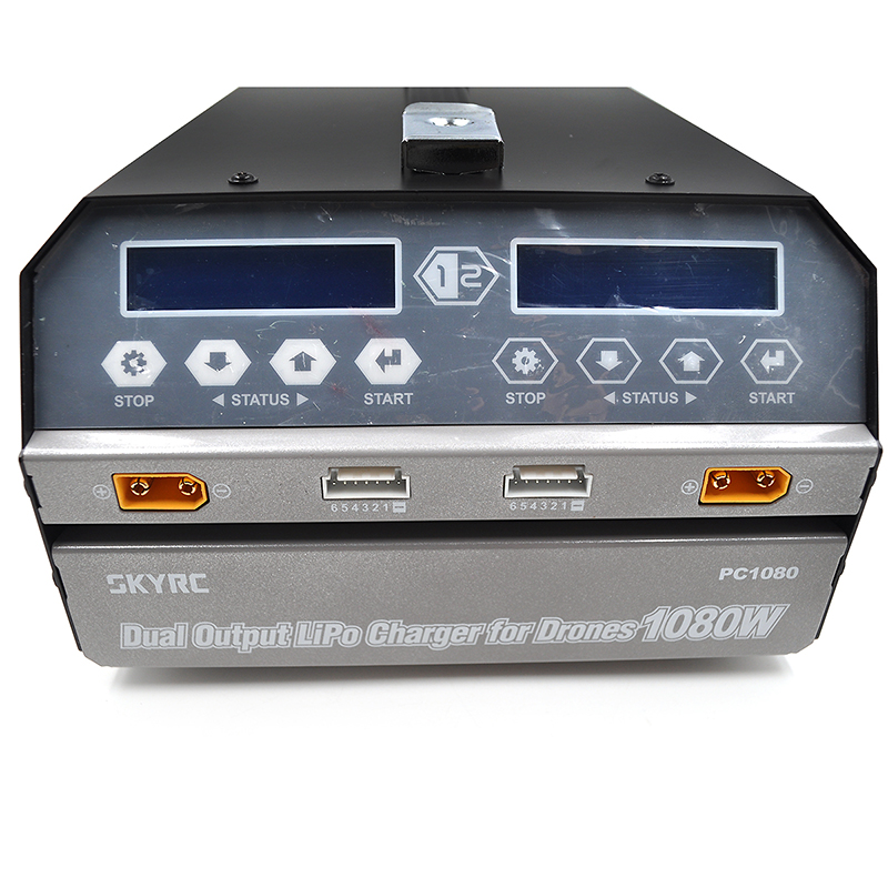 SKYRC PC1080 Dual Channel Charger 6S 540W X 2 1080W 20A  Balance Charger (for Plant Protection Drone)
