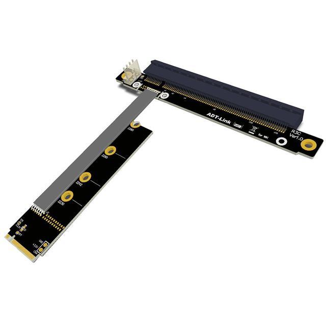 M2 NVMe A pci-16x Riser X11050ti 1060ti 1080ti RX580 extensor de tarjeta gráfica M2 x16 PCI-e para NVIDIA AMD A N Miner de tarjeta Btc