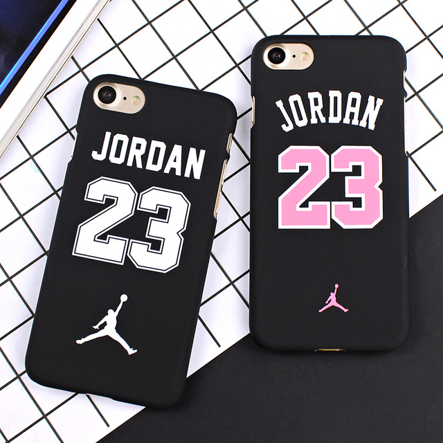Basketball Chicago Bulls No.23 Jordan PC Cover Case For iPhone 7 5 5s SE 6 6S 4.7″ 6 7 plus 5.5″ Jumpman Sports Phone Cases