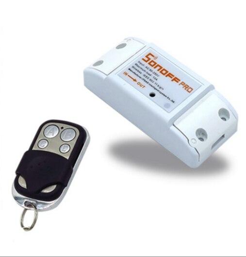 ITEAD 433 M 433 Mhz Sonoff RF-WiFi Draadloze Smart Switch met RF ontvanger Afstandsbediening Sensor voor Smart thuis