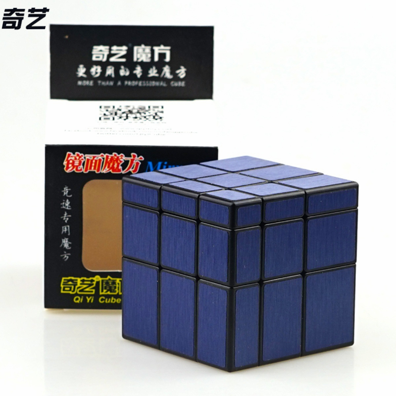 Newest QiYi 3x3x3 Mirror Blocks Magic Cube Competition Speed Puzzle Cubes Toys For Children Kids Cubo Magico