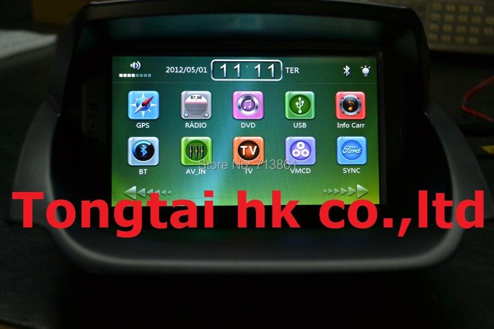 7 для ford focus 2013 2014 dvd плеер автомобиля, GPS Навигация, IPOD, BT, радио, 3 Г, canbus, SYNC100 %, wince, португальский, испанский, английский