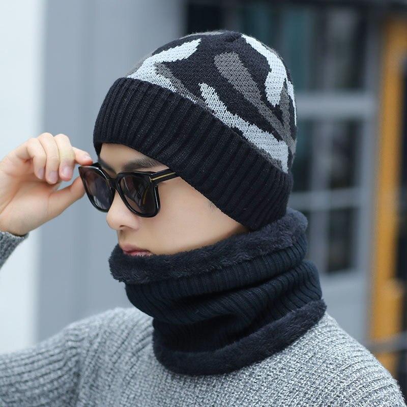 Hot PUBG Cs Go Warm Balaclava   Skullies     Beanies   Winter Hat Women Hats Caps Men Gorras Ski Mask Camouflage Cap Bone Knitted Scarf