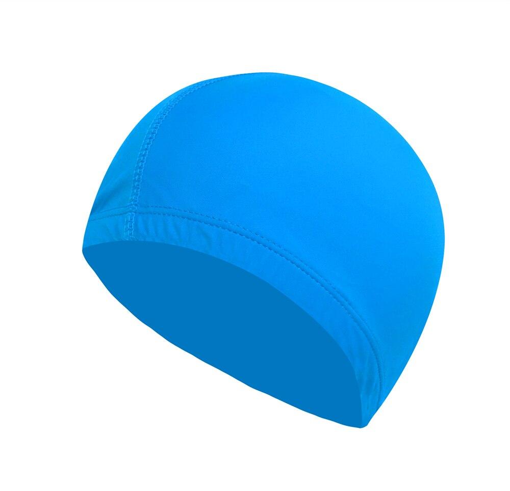 Buy Solid Women Men Swimming Caps 2017 New Elastic Swim Hat Wholesale Adults