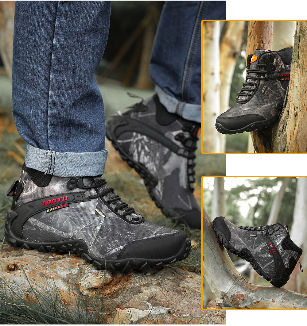 Outdoor Camouflage Tactical Sport Men\`s Shoes (14)