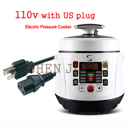 Electric electric pressure cooker timing pressure cooker reservation rice cooker 2L Non-syick stew pot 110V/220V EU US plug 700W