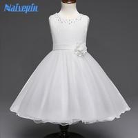 Düğün için Elbiseler Bebek Kız Doğum Günü Yılbaşı Tatil Parti Kostüm Giysileri Çiçek dantel Balo TUTU Elbise Beyaz Mor