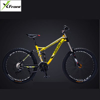 New Brand Aluminum Alloy Frame Mountain Bike Outdoor Downhill Oil Disc Brake 24 27 Speed Soft