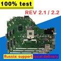 Материнская плата X55A Rev. 2,1/2,2 HM70 для ASUS X55A Материнская плата ноутбука X55A материнская плата X55A тест 100% ОК